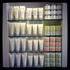 Gary Rom Haircare - love the look of our product ranges on the shelves #BlondeBrilliance #CortexRepair #HydroBoost #Replenish
