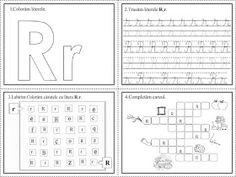 EDUCATIA CONTEAZA: Literele R, S, Ș 4 Kids, Periodic Table, Diy And Crafts, Alphabet, Preschool, David, Flower, Lyrics, 1st Grades