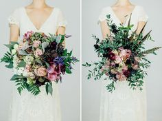 Autumn & Fall Bouquets From the RMW Book, Your Day Your Way by Charlotte O'Shea | Floral Design By  The Country Flower Company | Wedding Flowers