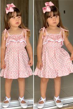 Frocks For Girls, Kids Frocks, African Dresses For Kids, Little Girl Dresses, Baby Girl Dress Patterns, Baby Dress, Mother Daughter Fashion, Girls Frock Design, Kids Dress Wear