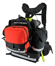 Search and Rescue Pack - Coaxsher Endeavor. Each module that makes up the Endeavor search and rescue pack can be removed giving you the freedom to carry as much or as little as you want. Wildland Fire Gear, Wildland Firefighter, Survival Prepping, Emergency Preparedness, Survival Gear, Wilderness Survival, Backpacking Gear, Hiking Gear, Emergency Packs