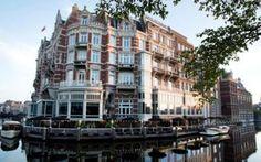Amsterdam - Hotel de l'Europe ligt op één van de meest illustere plekjes van Amsterdam: met een prachtig terras, uitkijkend over het water en de Stopera ...