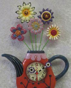 Allen Designs Studio Collection Clocks | Details about Allen Designs Collectible Wall Clock Flowerteaful Hand ...