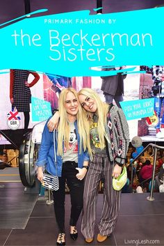 Primark + The Beckerman Sisters // LivingLesh