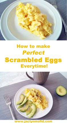 Even if you are a fan of eggs, scrambled eggs may not be your cup of tea. It is so easy for everything to go south real quick. Even when I order scrambled eggs at restaurants, I feel like I'm… Healthy Meals For Kids, Healthy Meal Prep, Healthy Dinner Recipes, Healthy Lunches, Quick Meals, Healthy Eating, Healthy Chicken Dinner, Easy Vegetarian Lunch, Crockpot Dairy Free