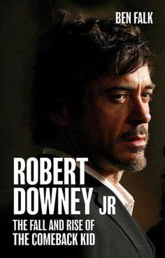 """My favourite actor, awesome book! The Fall and rise of the Comeback Kid.    """"I've always felt like an outsider in this industry. Because I'm so insane I guess.""""  —Robert Downey Jr.     Robert Downey Jr.'s life isn't a movie—but it could be. This biography is an insightful, devastating, scathing, and ultimately uplifting journey into the realms of Hollywood's darkest excesses and successes. His is without a doubt Hollywood's greatest ever comeback."""