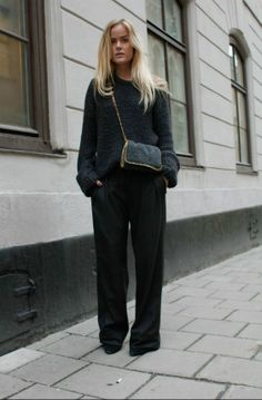 wideleg pants, stella mccartney,