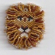 lion beaded earrings | Lion King Earrings by Edithscustomcrafts on Etsy, $24.99
