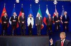 آقای ترامپ درباره توافق هسته ای ایران وعده داده بود که در صورت پیروزی در انتخابات، نخستین اولویت او، لغو این توافق به گفته او فاجعهبار خواهد بود.