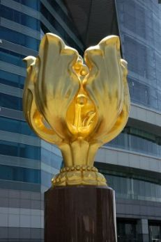 The Golden Bauhinia flower has long become the national symbol of #Hong #Kong