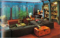 Bloomingdale's Book of Home Decorating 1973. Author Barbara D'Arcy Whoa! We need to look for this book.