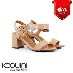 Básica, clean e deliciosa nos pés #koquini #comfortshoes #euquero #saltobloco Compre Online: http://koqu.in/2bkAmom