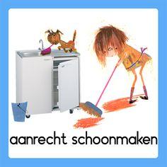 aanrecht schoonmaken
