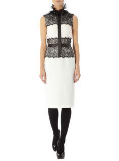 Gorgeous black & white dress