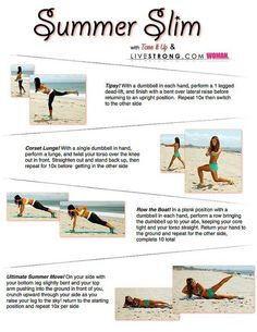 Go slim for summer, for all workout lovers Summer Slim