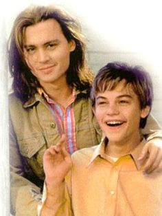 What's eating Gilbert Grape. Johnny Depp and a very young Leonardo di Caprio