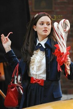 S in Fashion Avenue: Blair Waldorf style