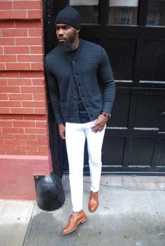 jabaribrown:  October 2014 white pants 6