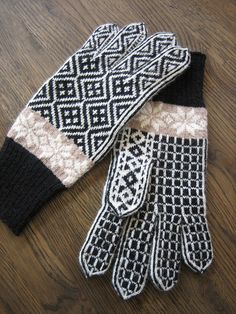 Ravelry: yarnjungle's Gloves from Fyresdal, West-Telemark