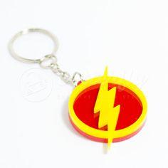 The Flash Keychain by CutterflyStudio on Etsy.