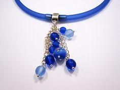 Zandstorm: Zomerse PVC ketting (Juwelen,halsketting)