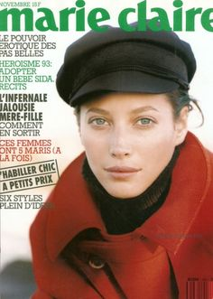 Christy Turlington: Marie Claire France. November 1993.