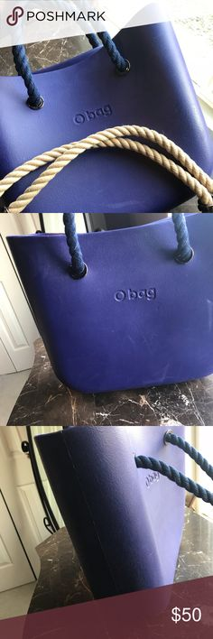O Bag - Iris beautifully simple and modern design, rich in practicality. Made of a material called EVA, it is soft, tactile, waterproof, lightweight and resilient. Designed by Emanuele Magenta, and is made in Italy  ***Includes two sets of interchangeable handles O Bag Bags Totes