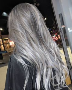 lace wig human hair long hair EEWIGS_SHOP Beauty and Hair Our Premium Princess collection has been created for customers requiring that extra special wig to complement a more authentic costume. These beautiful wigs have increased density Grey Hair Wig, Ash Grey Hair, White Hair, Grey Blonde Hair Color, Long Grey Hair, Ash Blonde Hair Balayage, Cool Ash Blonde, Blonde Brunette, Ombre Hair