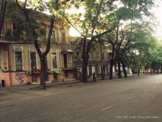 Early morning on Shukhovskaya, Odessa.