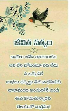 Telugu Inspirational Quotes, Daily Motivational Quotes, New Quotes, Daily Quotes, Funny Quotes, Life Lesson Quotes, Life Quotes, Funny Good Morning Images, Kalam Quotes