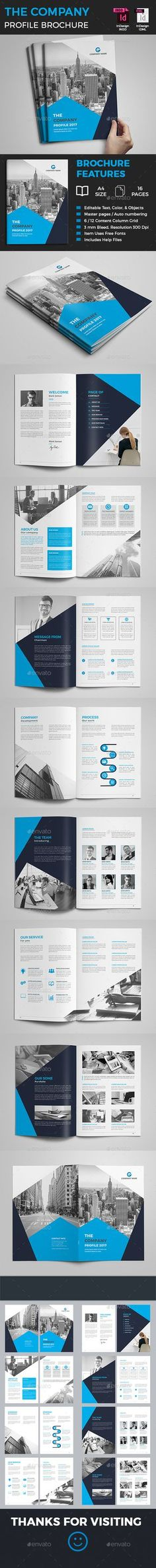 Company Profile Company profile, Brochure template and Brochures - company profile templates word