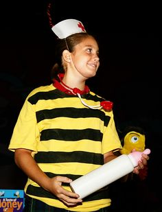 """A day or two after a honey bee emerges from her pupae, she'll be promoted to """"nurse bee"""" and will feed the larva."""