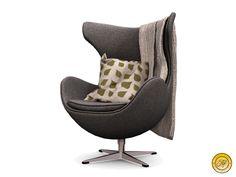 Apple Fall Dapper Chair w/ Deco (Grey Linen)
