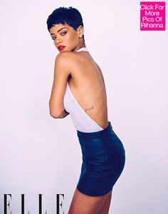 Image result for Rihanna pixie cut