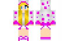 minecraft skin Pink-And-Purple-Cake-Girl