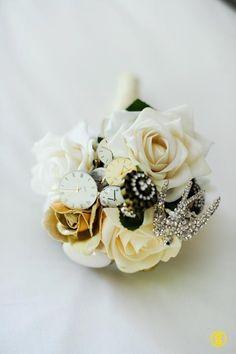 Trinket wedding bouquet
