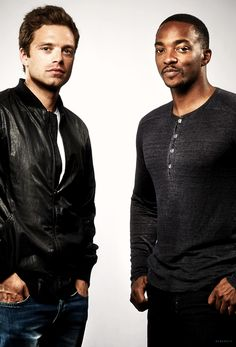 Seb Stan and Anthony Mackie