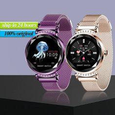 Smart Watch For Women Men | Fitness Tracker Smart Bracelet Waterproof Heart Rate Monitoring | Android IOS Fitness Watch, Mens Fitness, Smartwatch, Mesh Armband, Bluetooth Watch, Smart Bracelet, Heart Rate Monitor, Fitness Tracker, Sport Watches