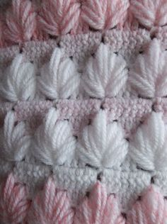 Crochet clusters