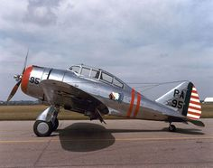 Seversky P-35A  USAF - Fighter