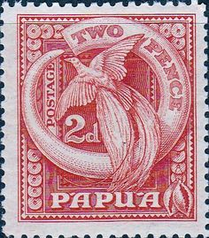 Papua 1935 SG 133 King George V Good Used Scott 97 Other Papua New Guinea Stamps HERE
