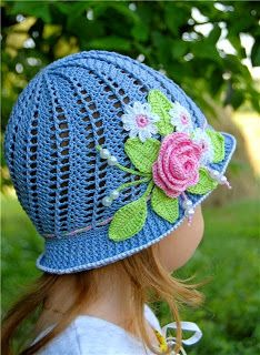 Red Haired Amazona: Little Girl's Cloche Hat Russian Pattern Update