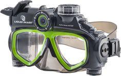 Liquid Image HYDRA HD 305G HD Video Kamera Dalış Maskesi ::