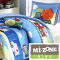Mizone Kids Truck Zone 4-piece Comforter Set | Overstock.com Shopping - The Best Deals on Kids' Comforter Sets