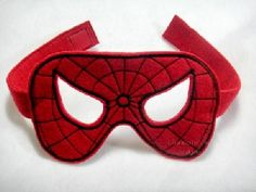 ITH Spidey Mask In the Hoop Embroidery Design