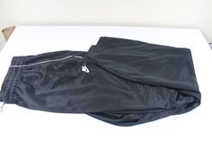 NIKE  men  pants (XL)  black 100% polyester pre-owned  #Nike