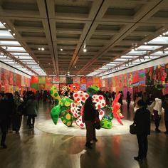 #kusamayayoi #exhibition