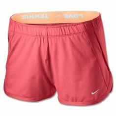 NIKE Women's Dri-Fit Tie Break 2-in-1 Built in Tennis Shorts-Coral-XL Nike. $29.98