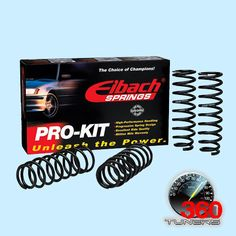 Acura CL 3.2 (Incl. Type S) Lowering Springs - Eibach Pro-Kit (Lower F-2.0, R-1.7) by Eibach