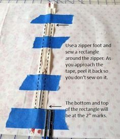 This is the fav way to install a zipper - learned it in high school home ec class - works best every time!